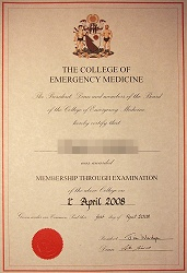 EmergencyMedicine in - Articles: MCEM Passouts